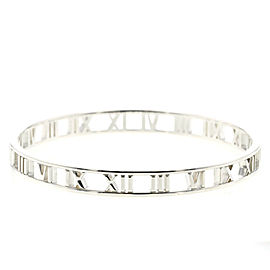 TIFFANY & Co. Open atlas 925 Silver Bangle TBRK-285
