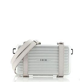 Dior x Rimowa Personal Clutch Aluminum