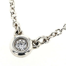TIFFANY & Co Silver 925 By The Yard 1P Necklace