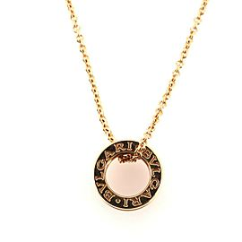 Bvlgari B.Zero1 Pendant Necklace 18K Rose Gold