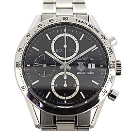 Tag Heuer Carrera CV2016 Stainless Steel Automatic 40mm Mens Watch