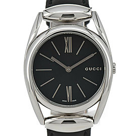GUCCI Horsebit 139.4/YA139401 black Dial Quartz Ladies Watch