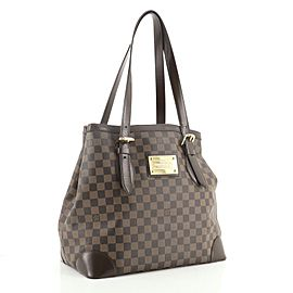 Louis Vuitton Hampstead Handbag Damier GM