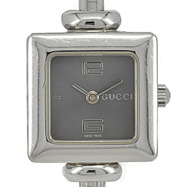 GUCCI 1900L Gray Dial Stainless Steel Quartz Women's Watch