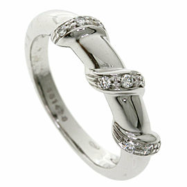 Chaumet 18K White Gold Diamond Ring