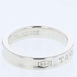TIFFANY & Co. 1837 Narrow 925 Silver Ring TBRK-572