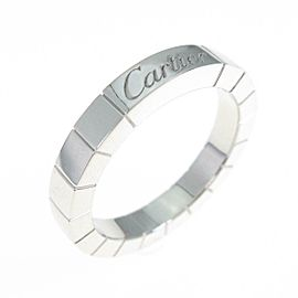 Cartier 18K White Gold Lanieres ring TkM-274