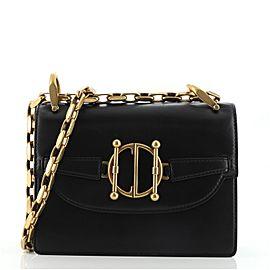Christian Dior DiorDirection Flap Bag Leather