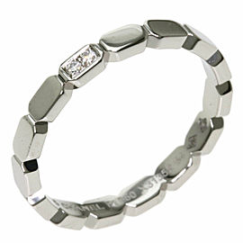 CHANEL PT950 Platinum Premiere Promes Diamond Ring TNN-2042