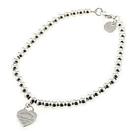 TIFFANY & Co 925 Silver bracelet TBRK-181