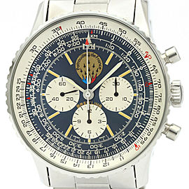 Polished BREITLING Old Navitimer Patrouille de France Mens Watch A11021