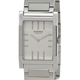 HERMES tandem TA1.710 Silver Dial Quartz Men's Watch