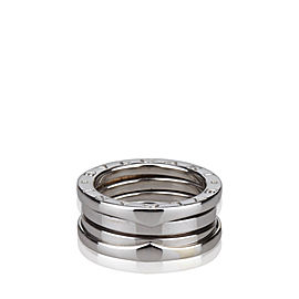 Bulgari 18K White Gold B.Zero1 Two Band Ring