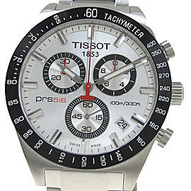 Tissot Chronograph Stainless Steel Quartz 44mm Mens Watch
