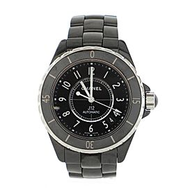Chanel J12 Automatic Watch Ceramic and Stainless Steel 38