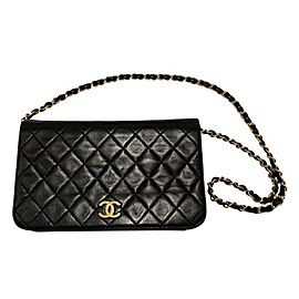 Chanel timeless shoulder/clutch bag