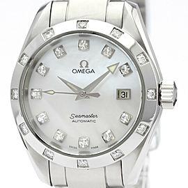 OMEGA Seamaster Aqua Terra Diamond MOP Dial Watch 2564.75