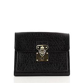 Louis Vuitton Indra Portfolio Embossed Leather