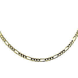 Figaro 14K Yellow Gold Chain Necklace