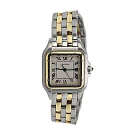 Cartier Panthere de Cartier 18K Yellow Gold & Stainless Steel 22mm Watch