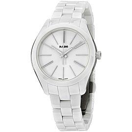 Rado Hyperchrome R32321012 Ceramic Quartz 36mm Womens Watch