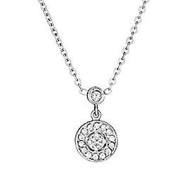 Penny Preville 18K White Gold Diamond Pendant Necklace
