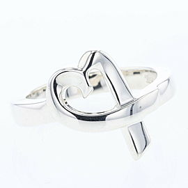 TIFFANY & Co Silver925 Loving heart Ring TBRK-519
