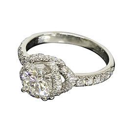 Chaumet Lien de Platinum 0.70 Ct Diamond Ring Size 3.75