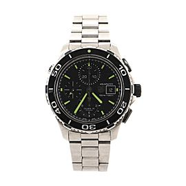 Tag Heuer Aquaracer 500M Calibre 16 Chronograph Automatic Watch Stainless Steel 43