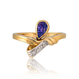 Le Vian Certified Pre-Owned Tanzanite 18K Honey Gold Ring