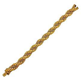 Tiffany & Co. 1960s Gold Twist Bracelet