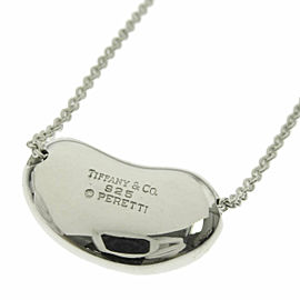 "TIFFANY & Co. Silver Bean 0.8 "" Necklace"