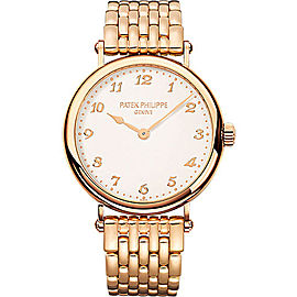 Patek Philippe Calatrava 7200/1R-001 18K Rose Gold 34.6mm Womens Watch