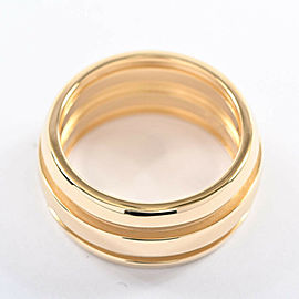TIFFANY & Co. 18K Yellow Gold Double line Ring