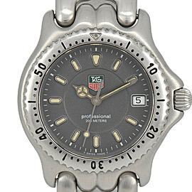 TAG HEUER S/el Professional WG1213-KO 200M gray Dial Quartz Boy's Watch