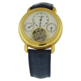 Audemars Piguet Jules Audemars 18K Yellow Gold & Leather 40mm Watch