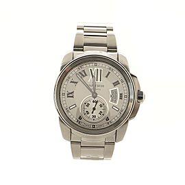 Cartier Calibre de Cartier Automatic Watch Stainless Steel 42