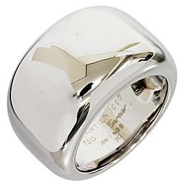 Cartier 18K White Gold Nouvelle Vague Ring Size 5.25