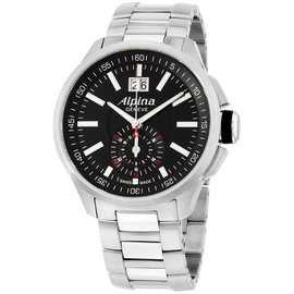 Alpina Racing AL353B5AR36B Black Dial Stainless Steel 45mm Mens Watch
