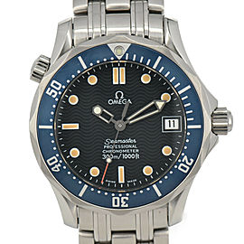 OMEGA Seamaster 2541.80 Cal.1120 300m Blue Dial Automatic Boy's Watch
