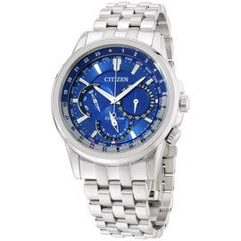 Citizen BU2021-51L Stainless Steel Blue Dial 44mm Mens Watch