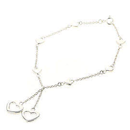 TIFFANY & Co. heart 925 Silver bracelet TBRK-560