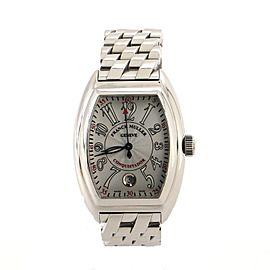 Franck Muller Conquistador Date Automatic Stainless Steel 48 Watch