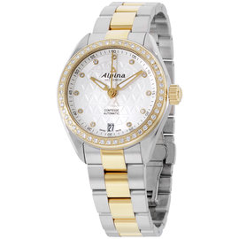 Alpina Comtesse AL525STD2CD3B Silver Dial Stainless Steel 34mm Womens Watch