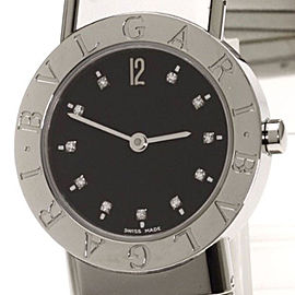 Bulgari BB262TS Stainless Steel Quartz 26mm Womens Watch