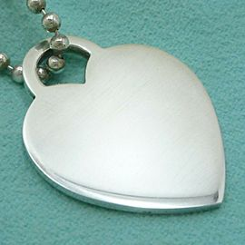 TIFFANY & Co. Sterling Silver Return To tiffany Necklace