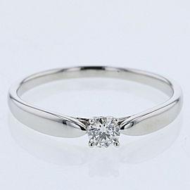 TIFFANY & Co. platanium/diamond Harmony Ring