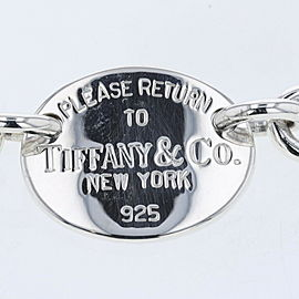 TIFFANY & Co 925 Silver Necklace TBRK-453