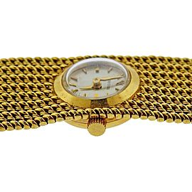Rolex Midcentury Gold Ladies Watch Bracelet