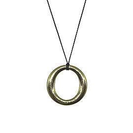 Tiffany & Co. Elsa Perrati 18K Yellow Gold Sevillana Pendant Necklace